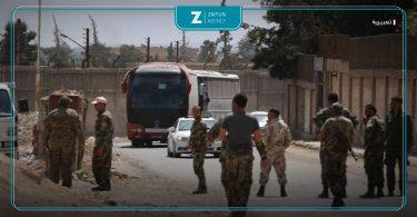 تهجير درعا الفيلق الخامس قوات الأسد فصائل المصالحات تسوية ليبيا