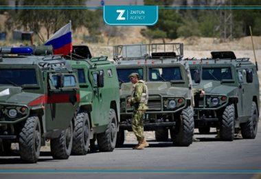 قوات روسية القوات الروسية تعزيزات دورية رتل