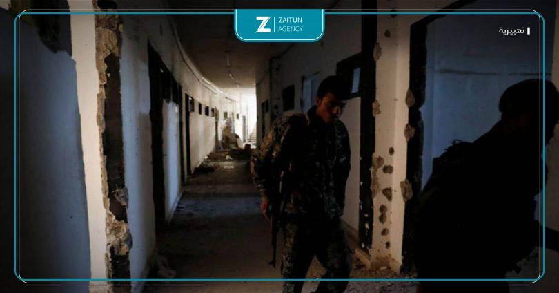 سجن داعش معتقلين تعذيب