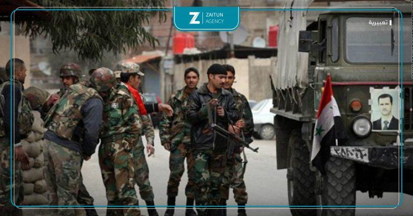 قوات الأسد الجيش اعتقالات اعتقال مداهمات ريف دمشق درعا حمص سوريا نظام الأسد