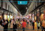 سوق الحميدية دمشق تجارة أسواق حركة نظام الأسد اقتصاد