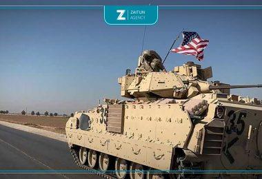 قوات أمريكية أميركية تعزيزات مدرعة أمريكا