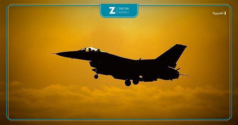 طائرة تحالف إسرائيل قصف جوي مجهول طيران غارات