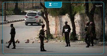 قوات الأسد حاجز تعبيرية