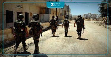 درعا قوات الأسد اعتقالات