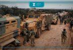رتل تركي تعزيزات جنود أتراك