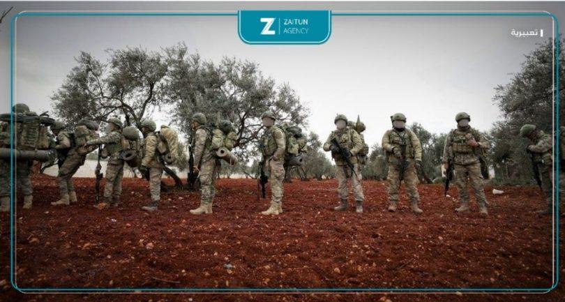 الدفاع التركية جنود أتراك