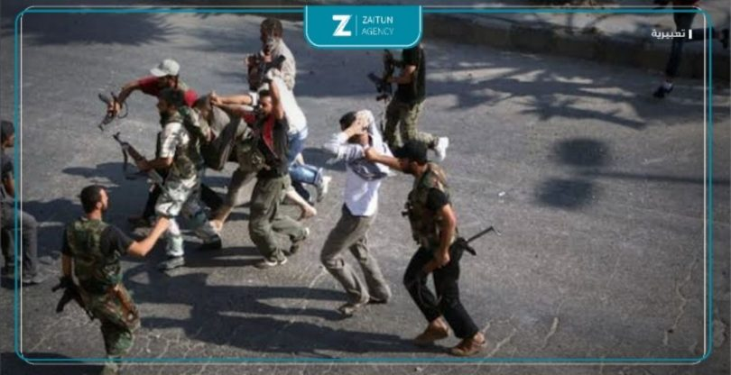 اعتقالات اعتقال قوات الأسد مخابرات استخبارات ريف دمشق