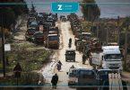 تعزيزات عسكرية رتل أرتال تركية تركيا