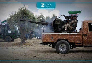 الجيش الوطني اشتباك اشتباكات صد تقدم سيطرة فصائل الثوار