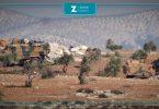 نقطة تركية أتراك قوات تركية مدرعات