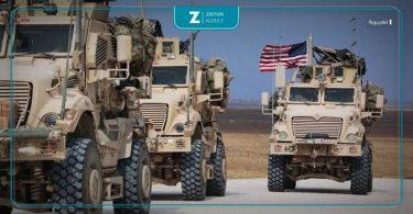 دورية أمريكية رتل أمريكي أميركية