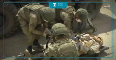 إصابة جنود أتراك