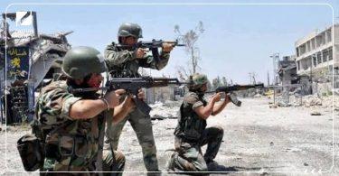 اشتباكات قوات الأسد