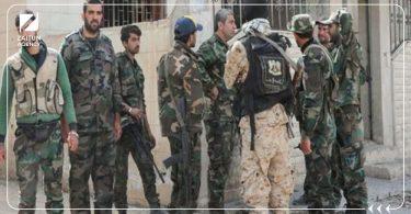 اعتقال نظام الأسد قوات الأسد