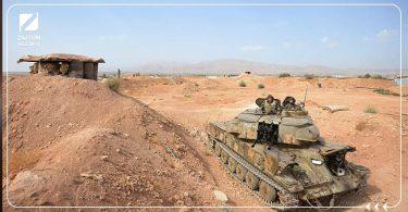 الجنوب السوري قوات الأسد دبابة