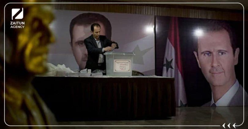 انتخابات الأسد لا شرعية