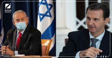 بشار الأسد اسرائيل نتنياهو