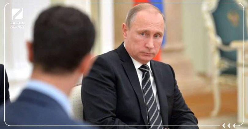 بوتين بشار الأسد روسيا