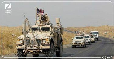 تعزيزات أمريكية رتل دورية أمريكية الجيش الأمريكي