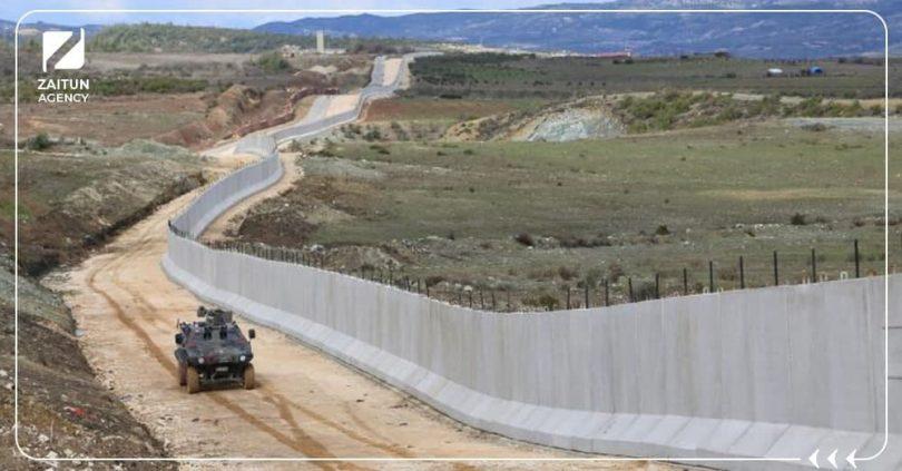 حدود سورية تركية
