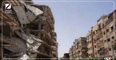دمار ريف دمشق