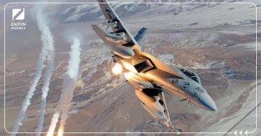 غارات أمريكا قصف إيران