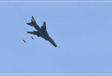 غارات طائرات روسية