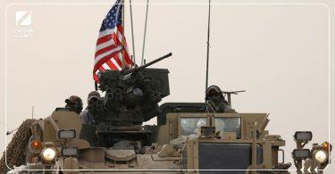 قاعدة عسكرية أمريكا مدرعة رتل دورية