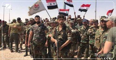 قوات الأسد ميليشيا الدفاع الوطني