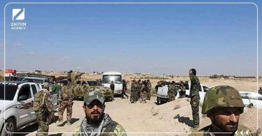 قوات الأسد اعتقال دير الزور