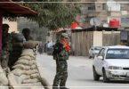 قوات الأسد حاجز