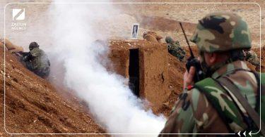 قوات الأسد قصف