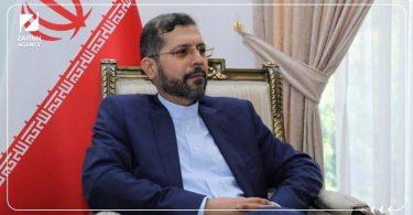المتحدث باسم وزارة الخارجية الإيرانية خطيب زاده