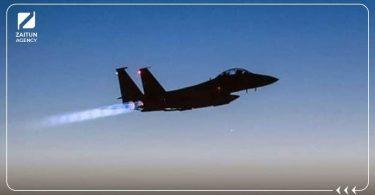 مجهول طائرة اسرائيل قصف