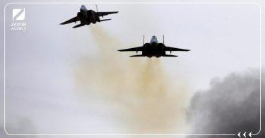 غارات طائرات مجهولة التحالف الدولي