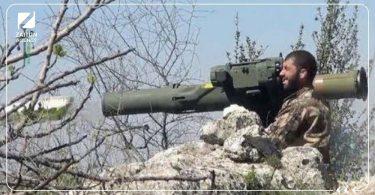 صاروخ موجه قصف فصائل الثوار ثوار الجيش الوطني