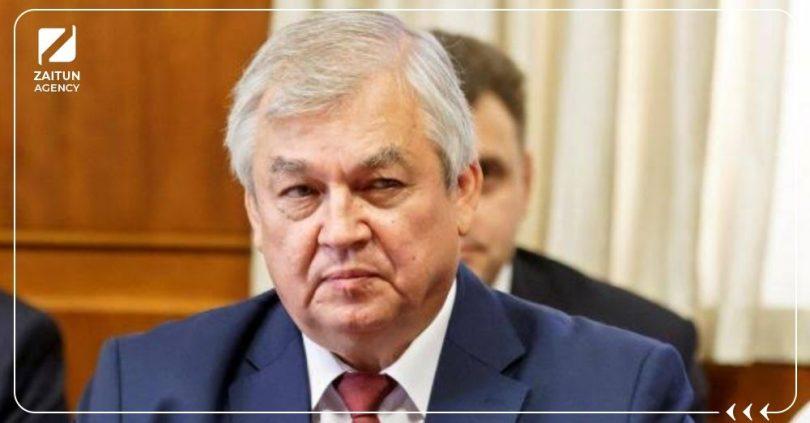 """مبعوث الرئيس الروسي إلى سوريا """"ألكسندر لافرينتيف"""