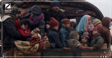 النزوح التهجير القسري النزوح الداخلي الشرق الأوسط سوريا