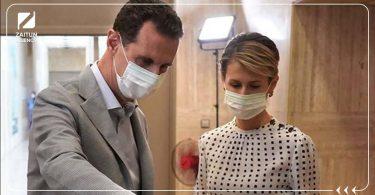 بشار الأسد أسماء الأسد