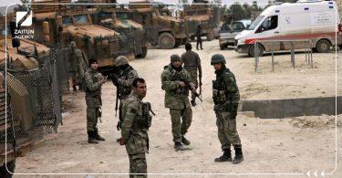 الجيش التركي جنود أتراك مدرعات تركية