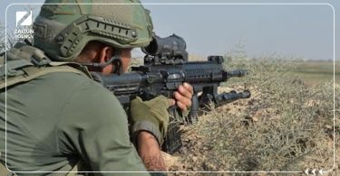 الجيش التركي قنص جنود أتراك