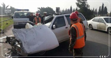 حادث سير ريف دمشق