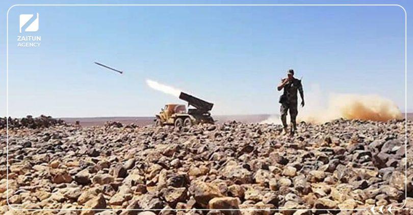 خروقات قصف صاروخي قوات الأسد