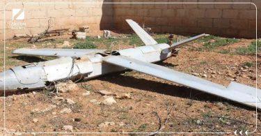 سقوط طائرة استطلاع روسية