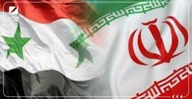 سوريا إيران