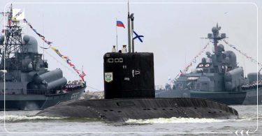 غواصات سفن روسية