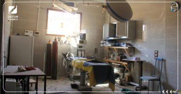 مرافق صحية مشفى دمار