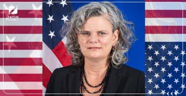مساعدة وزير الخارجية الأمريكية والممثلة الخاصة بالإنابة لشؤون سوريا إيمي كترونا