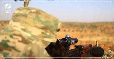 قنص الجيش الحر فصائل الثوار